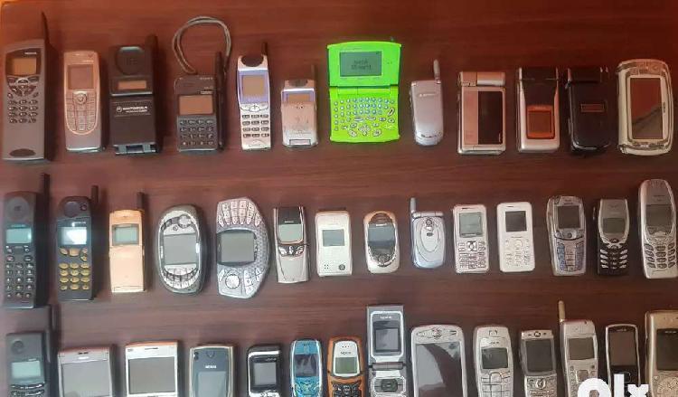 40 working vintage antique mobile phones vertu collection @