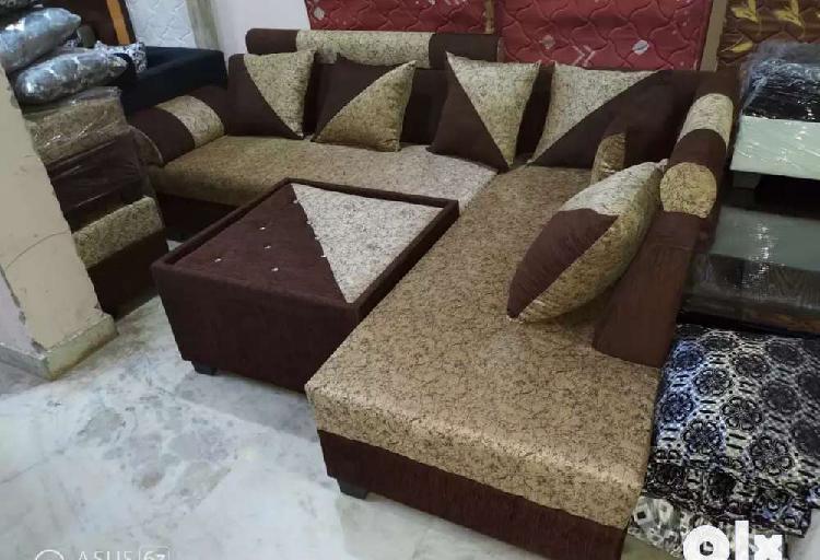 Corner sofa set package at satya furniture