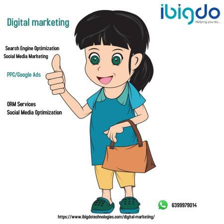 Digital marketing services provider in india   ibigdo india