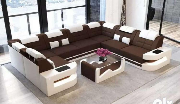 Newly madl shape corner sofa set direct from factory at