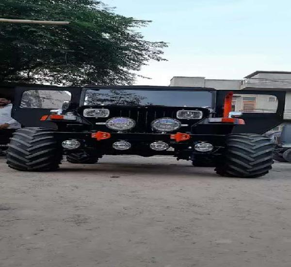 Rahul jeep modifier-all type modified jeeps order base ready