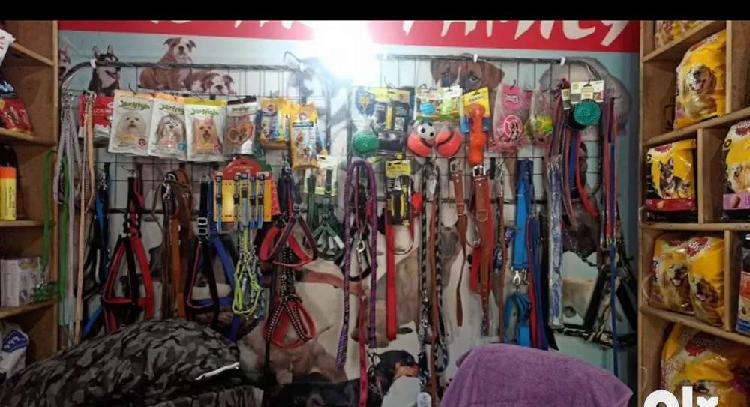 All pet's food and accessories