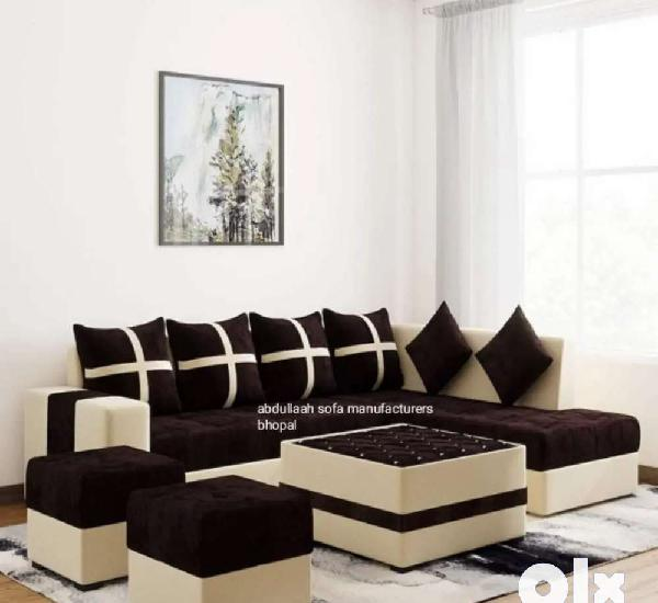 Brand new l shaped corner sofa set direct from factory at