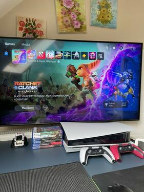 Brand new playstation 5 with games and complete accessories
