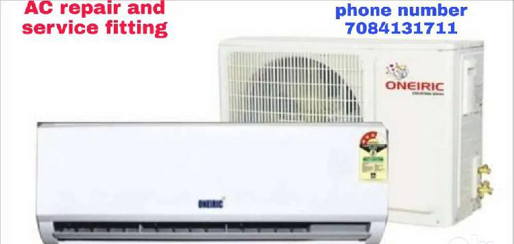 Ac repair and service fitting