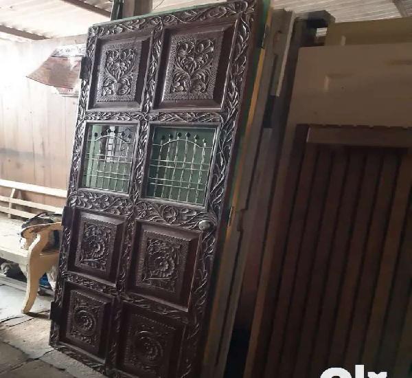 Sagwan safety door for sale