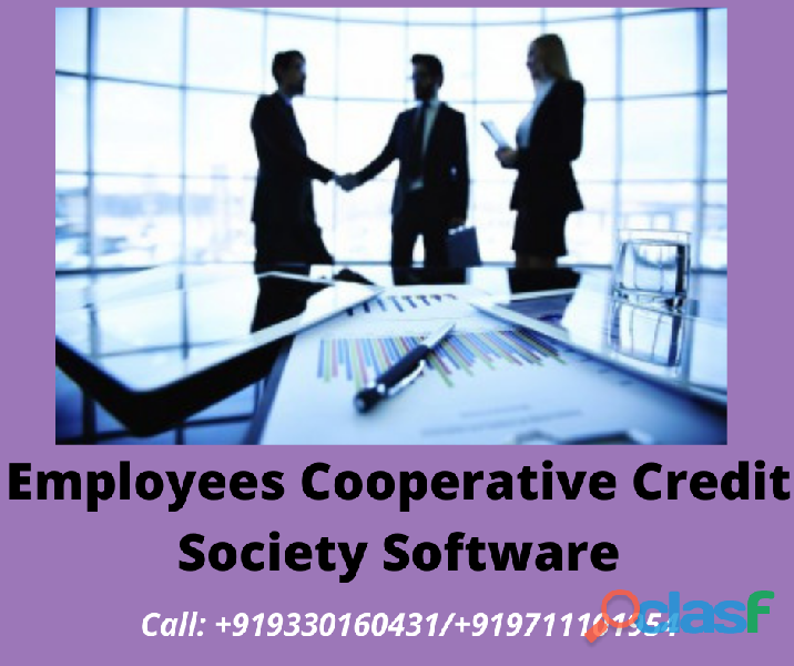 Employees cooperative credit society software free demo