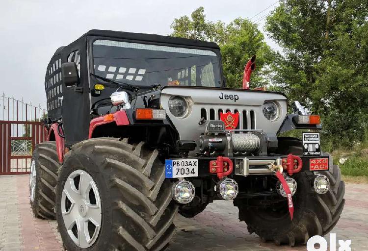 Modfied open jeeps willys jeeps thar hunter jeeps