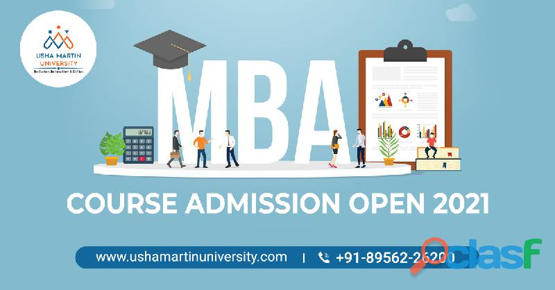 Best Management MBA Course Admission Open 2021 at Usha Martin