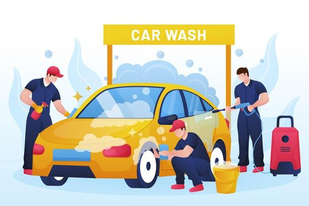 Best 100 car washing services center in delhi with doorstep