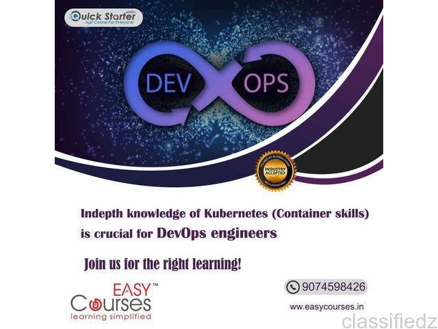Certification course for devops online training thrissur