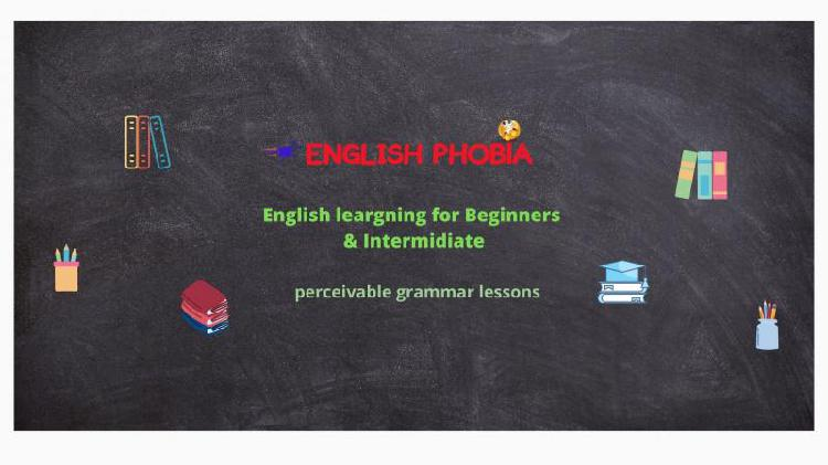 Lessons of english grammar basic or advanced online