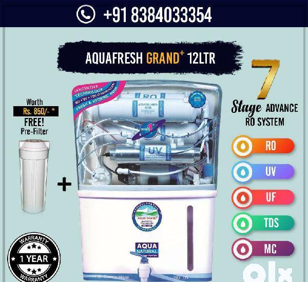 Mega sale aquafresh grand+ ro + uv + uf + tds ro water
