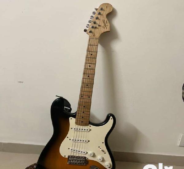 Squier strat electric guitar