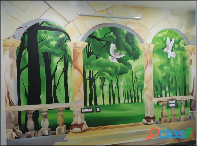 Resort wall apintings// resort paintings 2