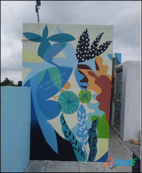 Resort wall apintings// resort paintings 1