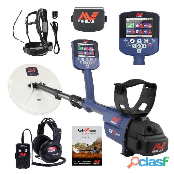 Minelab GPZ 7000 Metal Detector and GPZ19 Coil;......$2500