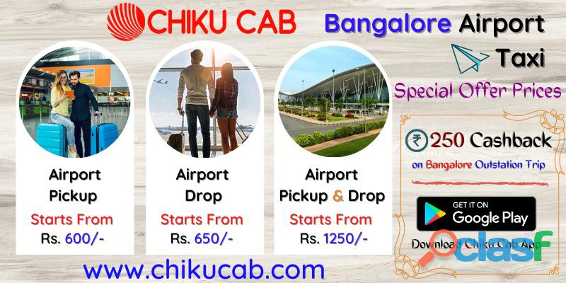 Outstation Taxis in Bangalore