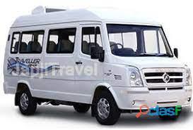tempo traveller 12 seats