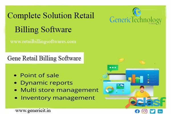 Complete Solution Gene Retail Billing Software