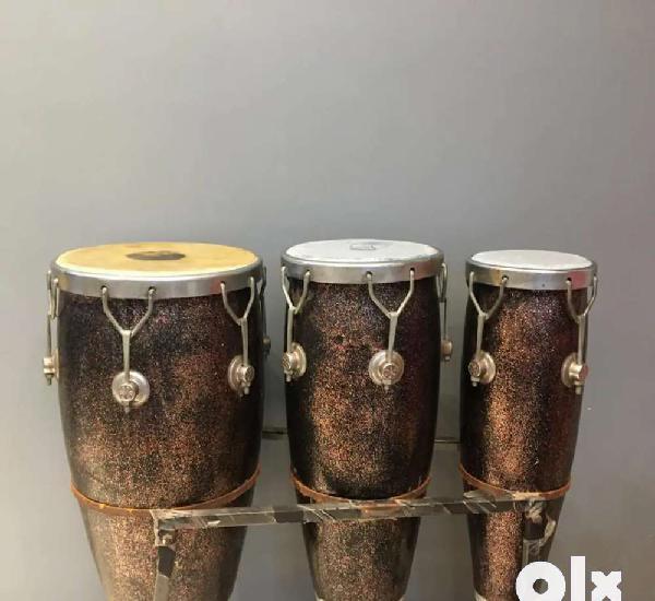Black congo drum