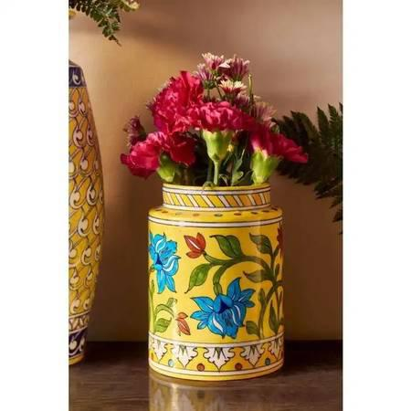 Buy handcrafted blue pottery online in india from craft