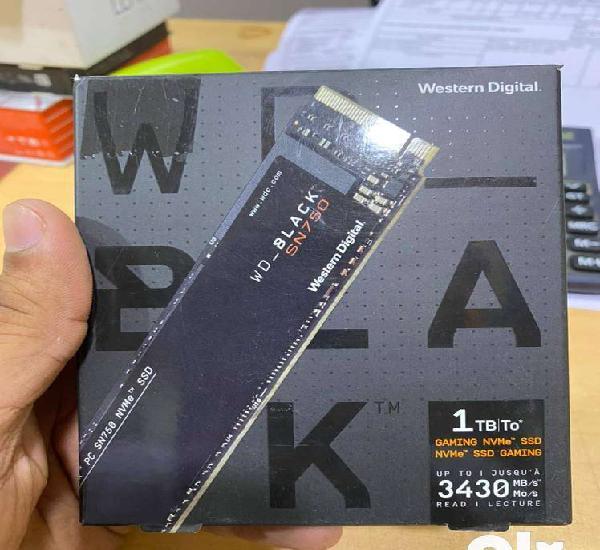 Western digital wd black nvme sn750 1 tb m.2 2280